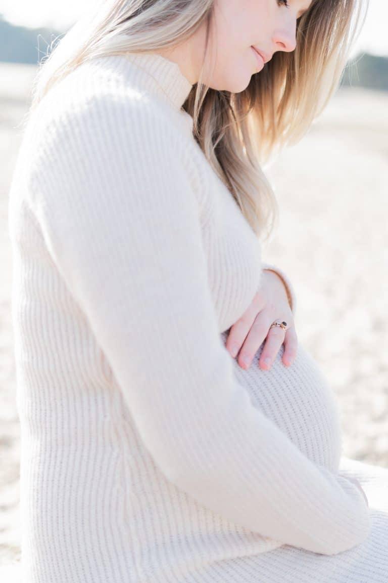 Zwangerschapsshoot Loonse en Drunense Duinen