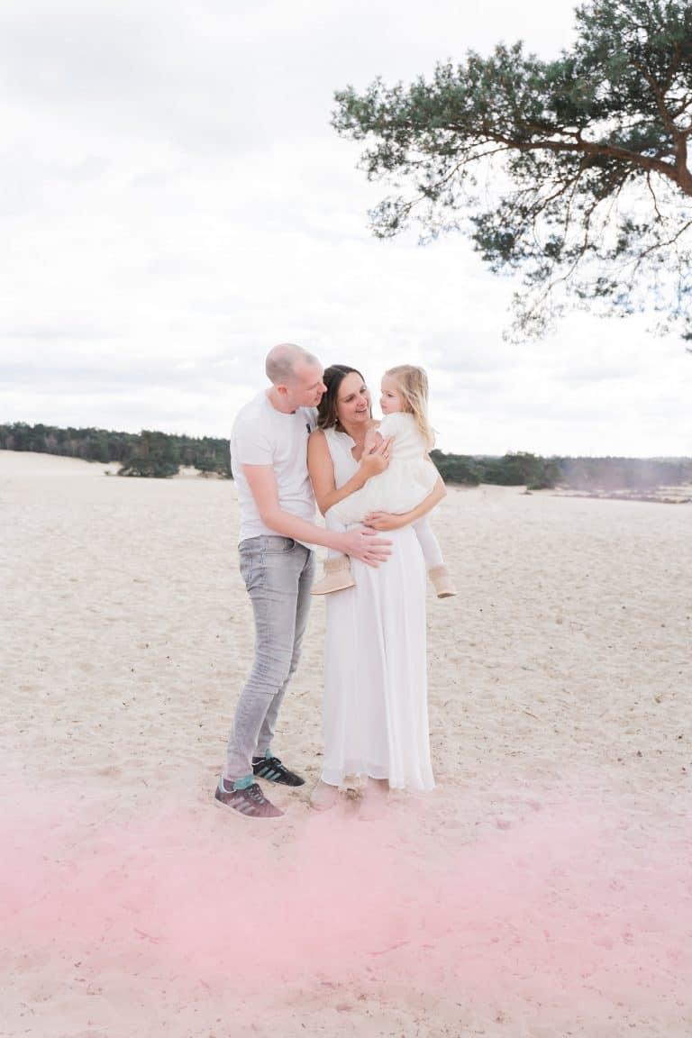 Gender reveal fotoshoot Zuid Holland