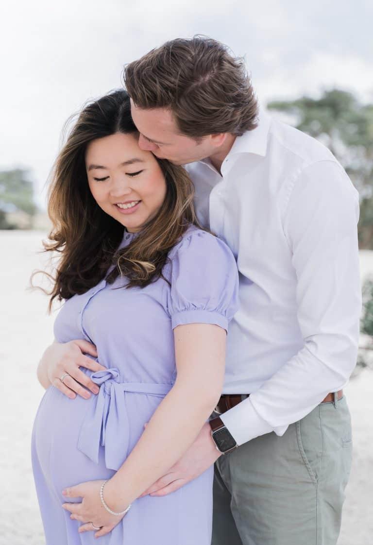 Zwangerschapsfotoshoot Soester Duinen