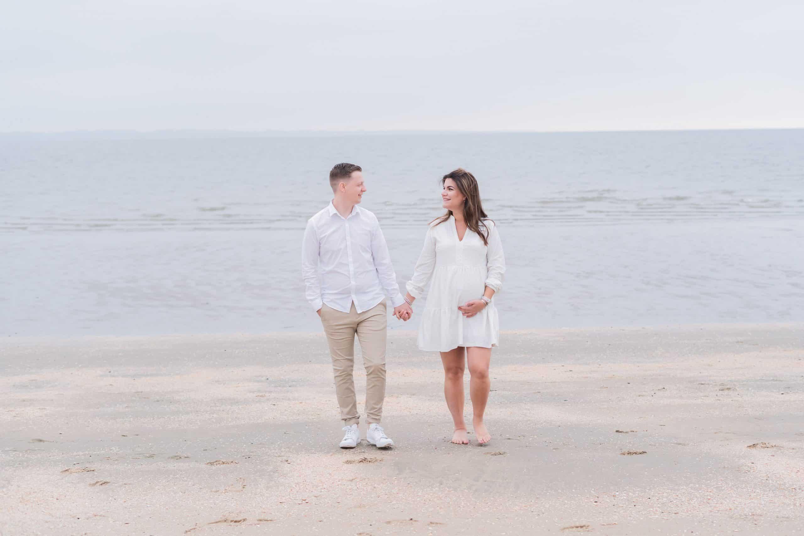 Zwangerschapsshoot Rockanje strand